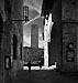 Street scene, San Gimignano, Tuscany