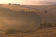 Sunrise, Autumn, near Pienza