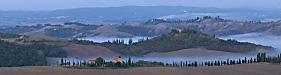 Before dawn, Crete Senese