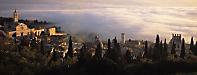 Assisi, sunset, Umbria