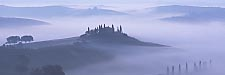 Val d'Orcia – the blue hour